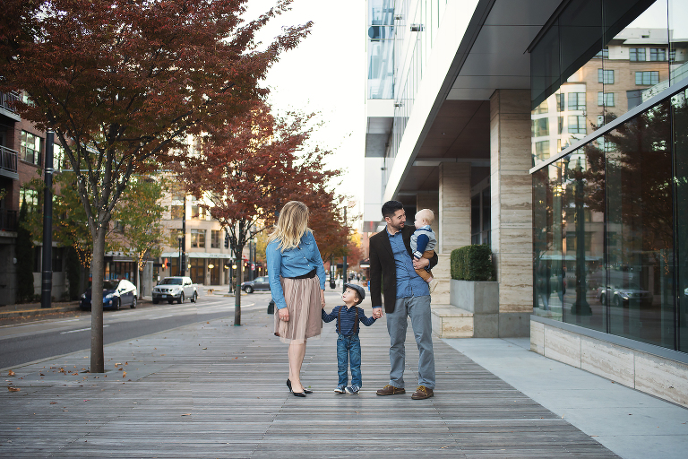 Chandler-Family-Holding-Hands-Downtown-Portland-Oregon